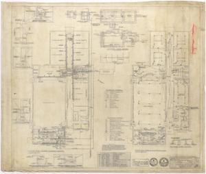 Primary view of object titled 'Hermleigh High School: Plumbing, Heating, and Electrical Plan'.