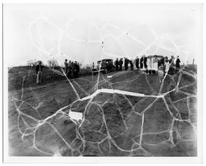 Primary view of object titled '[Site of Grapevine Shooting, 04-01-1934]'.