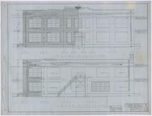 Primary view of object titled 'High School, Knox City, Texas: Elevations'.