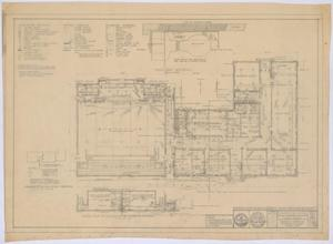 Primary view of object titled 'School Building, Spur, Texas: Mechanical Plan'.