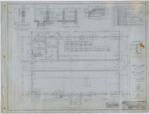 Primary view of object titled 'High School, Knox City, Texas: Basement Plan'.