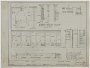 Primary view of object titled 'Ward School Building, Ranger, Texas: Elevation Plan'.