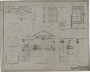 Primary view of object titled 'Abilene Hotel: Miscellaneous Details'.