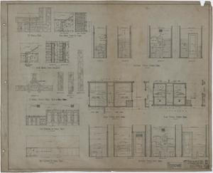 Primary view of object titled 'Abilene Hotel: Bath and Shower Room Details'.