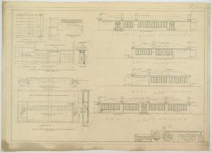 Primary view of object titled 'School Building, Ira, Texas: Elevations'.