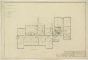 Primary view of object titled 'School Building, Hermleigh, Texas: Mechanical Plan'.