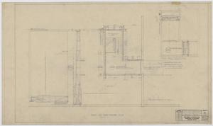 Primary view of object titled 'Iraan High School Addition: Roof and Third Floor Plan'.