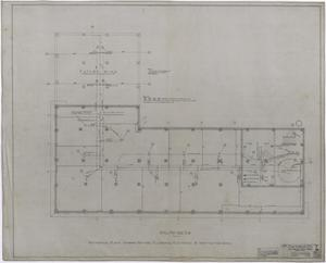 Primary view of object titled 'Abilene Hotel Mechanical Plans: Attic and Penthouse Plan'.
