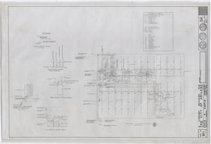 Primary view of object titled 'Abilene Public Library, Abilene, Texas: Basement Plumbing Plan'.