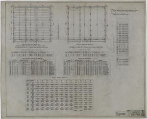 Primary view of object titled 'Abilene Hotel: Portions of Framing Plans'.