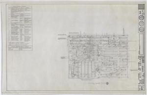 Primary view of object titled 'Abilene Public Library, Abilene, Texas: Second Floor Mechanical Plan'.