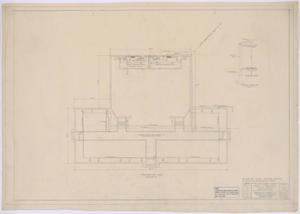 Primary view of object titled 'Grade School, Knox City, Texas: Foundation Plan'.