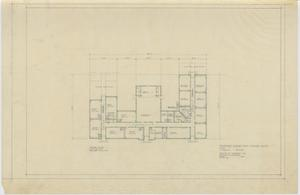 Primary view of object titled 'Elementary School Proposal, Iraan, Texas: Floor Plan'.