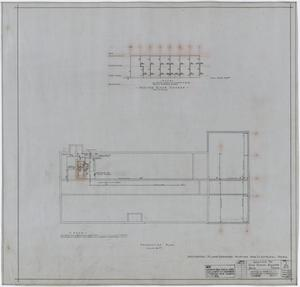 Primary view of object titled 'High School Building Addition, Rule, Texas: Foundation Plan'.
