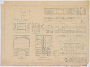 Primary view of object titled 'School Building, Spur, Texas: Remodel Existing School Building'.