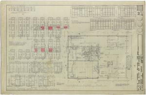 Primary view of object titled 'Abilene Public Library, Abilene, Texas: Second Floor Plan'.