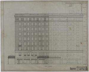 Primary view of object titled 'Abilene Hotel: Elevation'.