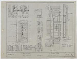 Primary view of object titled 'Ward School Building, Ranger, Texas: Diagrams'.