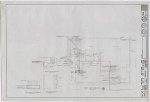 Primary view of object titled 'Abilene Public Library, Abilene, Texas: First Floor Plumbing Plan'.