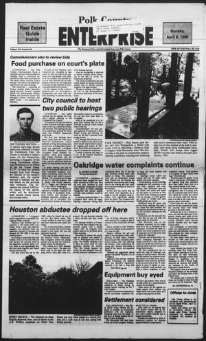 Primary view of object titled 'Polk County Enterprise (Livingston, Tex.), Vol. 113, No. 29, Ed. 1 Sunday, April 9, 1995'.