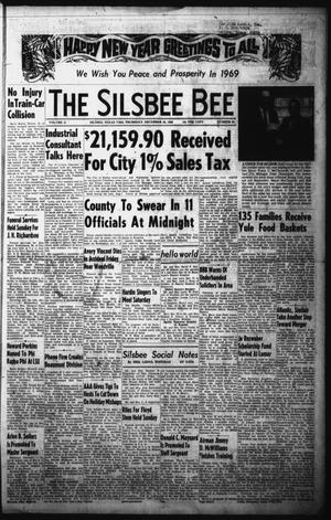 Primary view of object titled 'The Silsbee Bee (Silsbee, Tex.), Vol. 51, No. 44, Ed. 1 Thursday, December 26, 1968'.