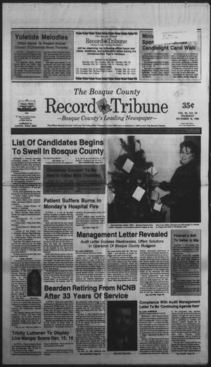 Primary view of object titled 'The Bosque County Record Tribune (Clifton, Tex.), Vol. 94, No. 50, Ed. 1 Thursday, December 14, 1989'.