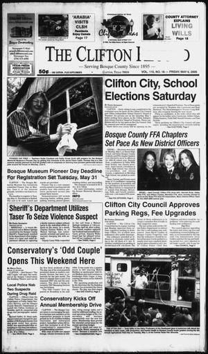 Primary view of object titled 'The Clifton Record (Clifton, Tex.), Vol. 110, No. 18, Ed. 1 Friday, May 6, 2005'.