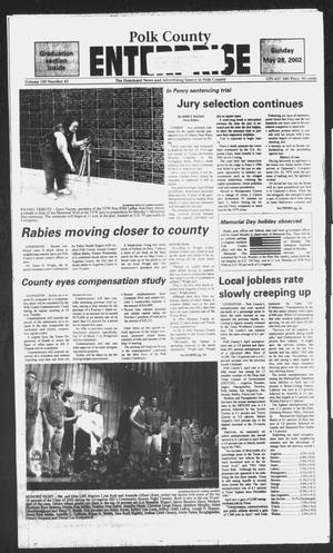 Primary view of object titled 'Polk County Enterprise (Livingston, Tex.), Vol. 120, No. 42, Ed. 1 Sunday, May 26, 2002'.