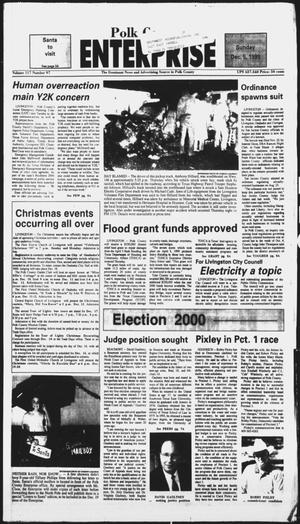 Primary view of object titled 'Polk County Enterprise (Livingston, Tex.), Vol. 117, No. 97, Ed. 1 Sunday, December 5, 1999'.