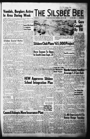 Primary view of The Silsbee Bee (Silsbee, Tex.), Vol. 51, No. 22, Ed. 1 Thursday, July 25, 1968