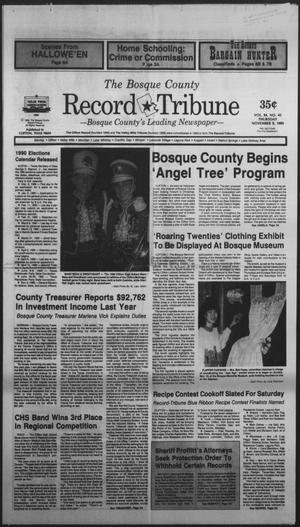 Primary view of object titled 'The Bosque County Record Tribune (Clifton, Tex.), Vol. 94, No. 45, Ed. 1 Thursday, November 9, 1989'.
