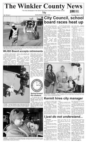 Primary view of object titled 'The Winkler County News (Kermit, Tex.), Vol. 78, No. 9, Ed. 1 Thursday, March 7, 2013'.