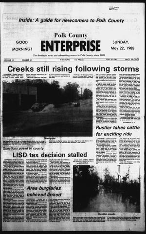 Primary view of object titled 'Polk County Enterprise (Livingston, Tex.), Vol. 101, No. 42, Ed. 1 Sunday, May 22, 1983'.