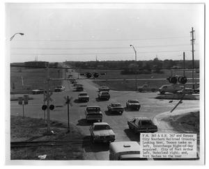 Primary view of object titled '[Farm-to-Market Highway Intersection]'.