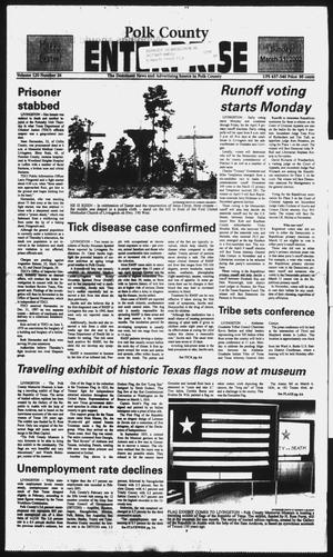 Primary view of object titled 'Polk County Enterprise (Livingston, Tex.), Vol. 120, No. 26, Ed. 1 Sunday, March 31, 2002'.