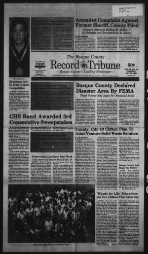 Primary view of object titled 'The Bosque County Record Tribune (Clifton, Tex.), Vol. 95, No. 19, Ed. 1 Thursday, May 10, 1990'.