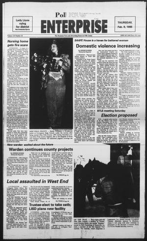 Primary view of object titled 'Polk County Enterprise (Livingston, Tex.), Vol. 113, No. 12, Ed. 1 Thursday, February 9, 1995'.