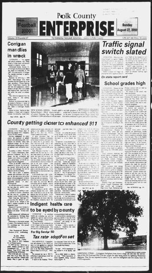 Primary view of object titled 'Polk County Enterprise (Livingston, Tex.), Vol. 118, No. 67, Ed. 1 Sunday, August 27, 2000'.