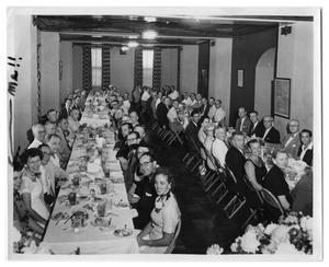 Primary view of object titled '[Adams Building Banquet]'.