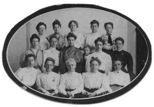 Primary view of object titled '[Port Arthur Women's Self-Improvement Club]'.