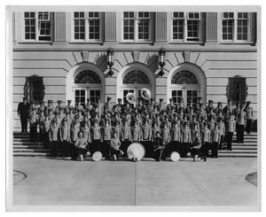 Primary view of object titled '[Woodrow Wilson Junior High School Band]'.