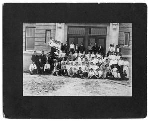 Primary view of object titled '[Group of Students]'.