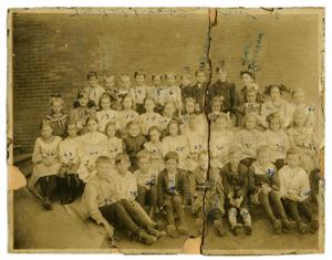Primary view of object titled '[Elementary School Students]'.