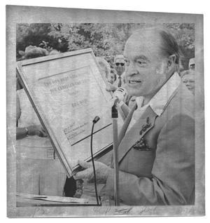 Primary view of object titled '[Groundbreaking for Bob Hope High School]'.