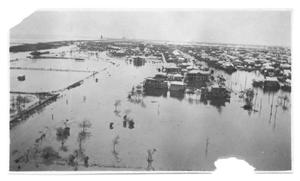 Primary view of object titled '[Aerial View of Flood Waters]'.