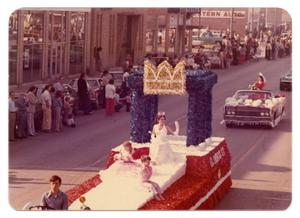 Primary view of object titled '[CavOILcade Parade Float]'.