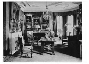 Primary view of object titled '[Interior View of Gates Home]'.