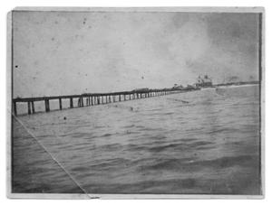 Primary view of object titled '[John W. Gates Fishing Pier]'.