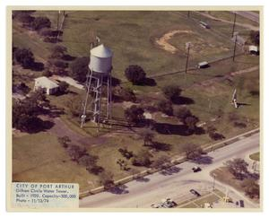 [Aerial View of Water Tower]