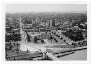Primary view of object titled '[Aerial View of Jefferson Country Sub - Courthouse]'.